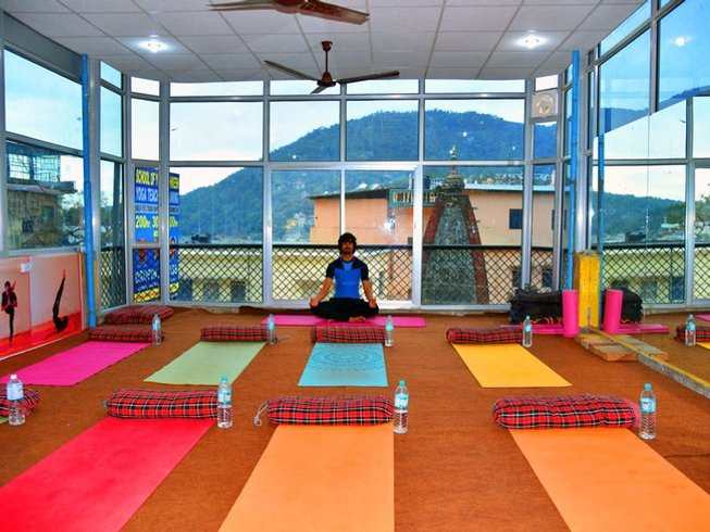 26 Days 300-Hour Yoga Teacher Training in Rishikesh, India