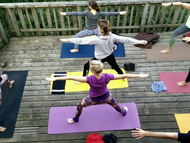 7 días retiro de yoga Vinyasa y Yin en Gérardmer, Francia