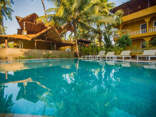 8 Tage Entspannendes Yoga Retreat in Goa, Indien