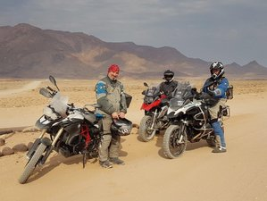 15 Days Two-Wheel Guided Desert Dance Motorcycle Tour in Namibia