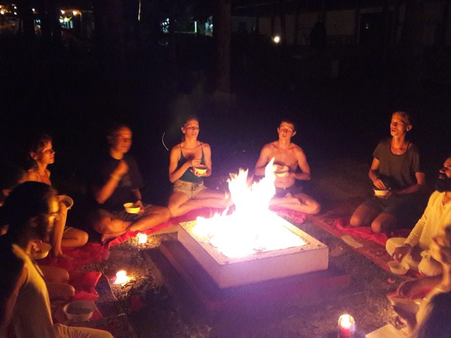 19 Tage Transformierender Yoga Retreat in Indien