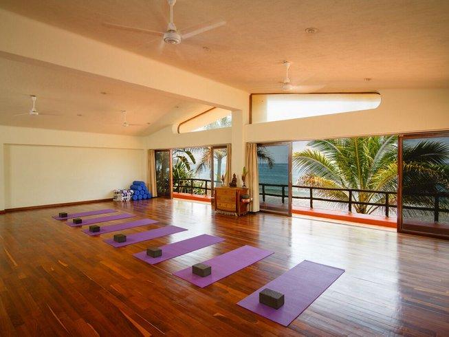 8 jours en stage de yoga à Nayarit, Mexique