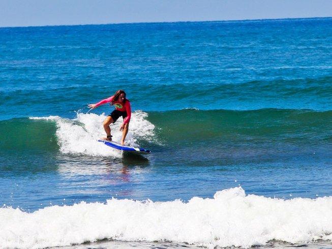 8 jours en stage de yoga et surf holistique à Puntarenas, Costa Rica