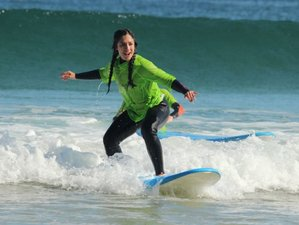 2 Days Luxury Surfing Holiday Near World Famous Fistral Beach in Newquay, UK