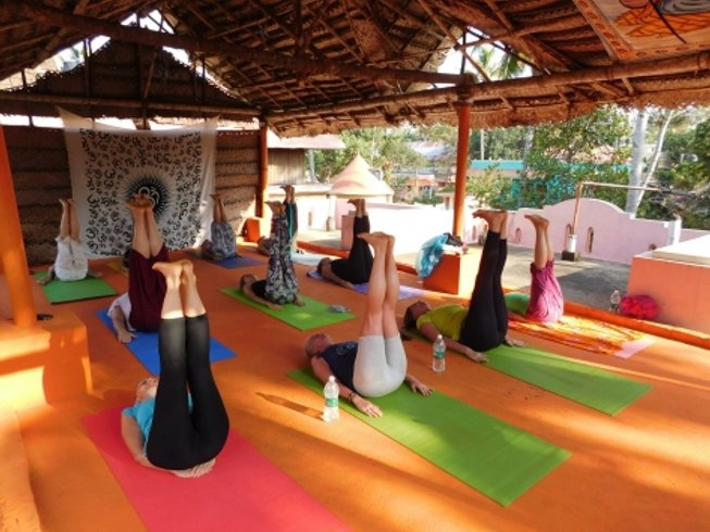 15 Days Beach Meditation and Yoga Retreat in India