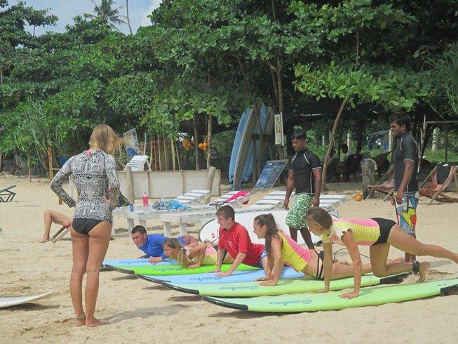 7 Days Surf Camp in Sri Lanka