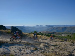 4 Days Guided Short Enduro Motorcycle Adventure in Costa Verde, Portugal