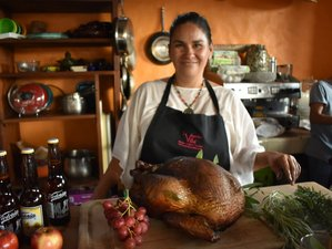 8 Day Wild Flower and Harvest Week: Thanksgiving Cooking and Culinary Holiday in Tepoztlan, Morelos