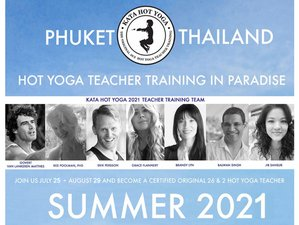 36 Day 500-Hour Hot Yoga Teacher Training in Kata Beach, Phuket
