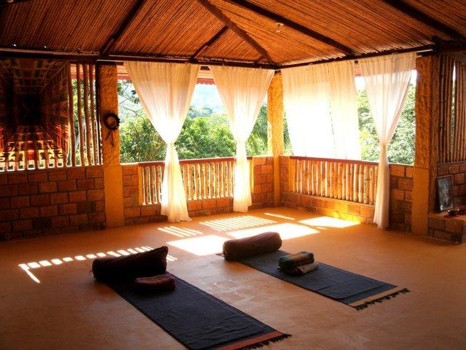 8 jours en stage de yoga detox chamanique au Pérou