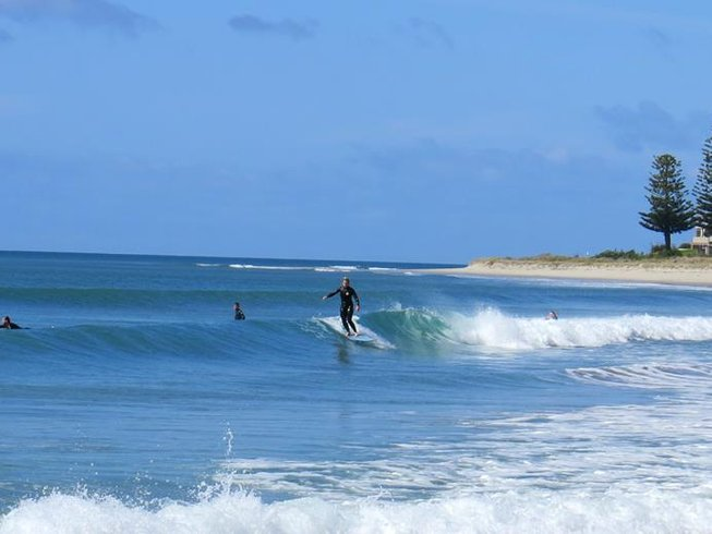 4 Days Intensive Surf Camp in Whangamata, North Island, New Zealand