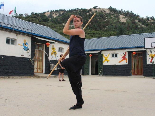 14 Days Qi Qong, Tai Chi, and Kung Fu Training in Tianmeng, China