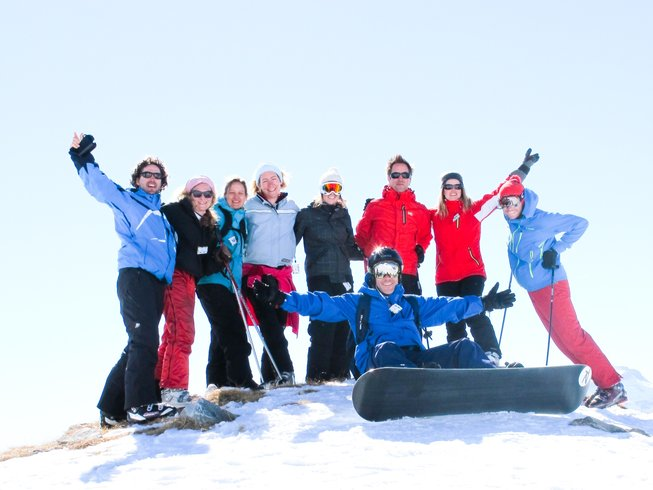 5 Days New Year Detox, Skiing and Yoga Retreat in France