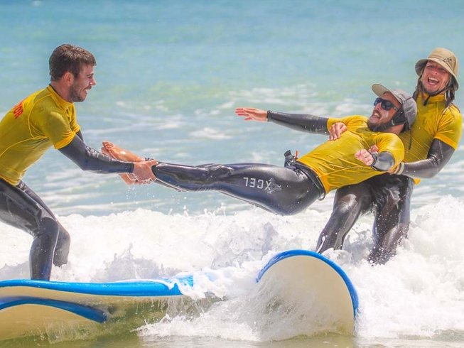 7 Days All Levels Surf Camp in Portugal