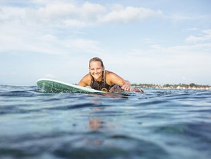 7 Day Surf and Yoga Retreat Bali