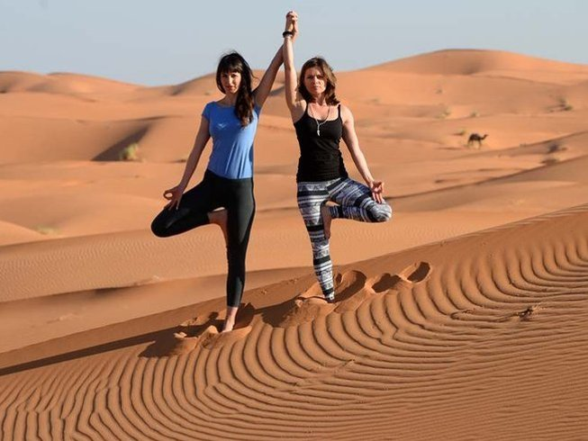 10 Days New Year Desert Yoga Retreat in Morocco