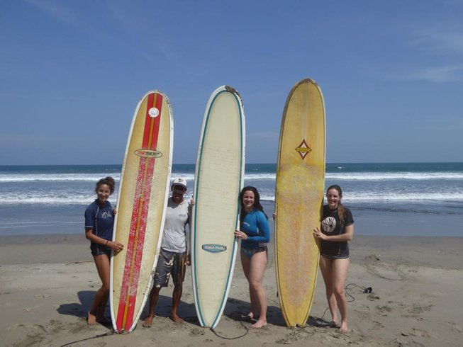 7 Days Surf and Yoga Retreat in Montezuma, Costa Rica
