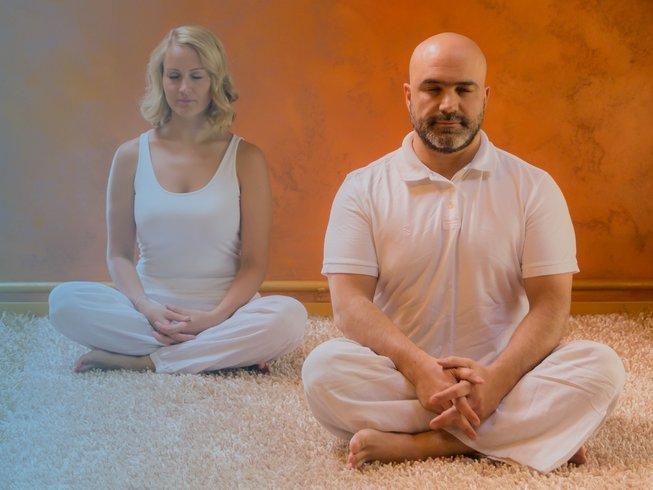 28 días profesorado de meditación intensivo de 200 horas en Rishikesh, India