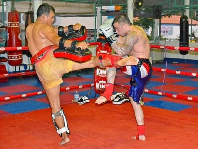 7 days of Muay Thai Training in Pattaya, Thailand