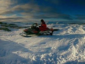 3 Days Snowmobile Safari Tour in Kviby, Norway