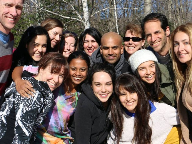 4 Days Happiness and Yoga Retreat in Quebec, Canada