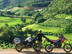 7 Days Northern Thailand True ADVenture Guided Motorcycle Tour - Mae Sariang Route