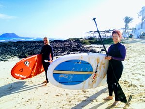 8 Days SUP, Excursions, and Yoga Retreat in Fuerteventura, Spain