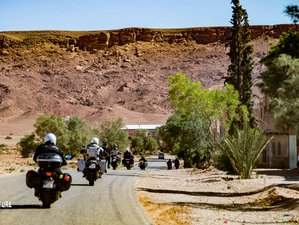10 Day Discover Morocco Guided Motorbike Tour from Spain