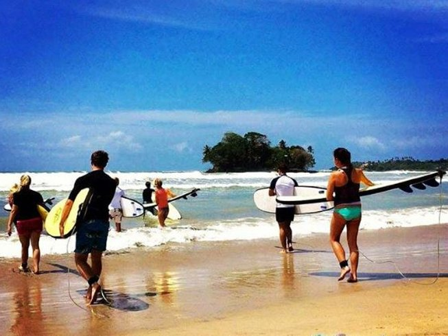 8 Days Surf Camp Sri Lanka