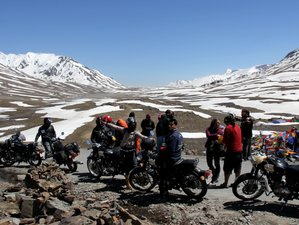 6 Day Great Lakes of Ladakh: Guided Motorcycle Tour in North India's Himalayas