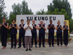 1 Month Shaolin Wushu Kung Fu Training in Tengzhou, China