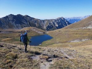 10 Day Hiking, Wild Camping, Yoga and Meditation Holiday in The Stunning Wilderness of Queyras Park