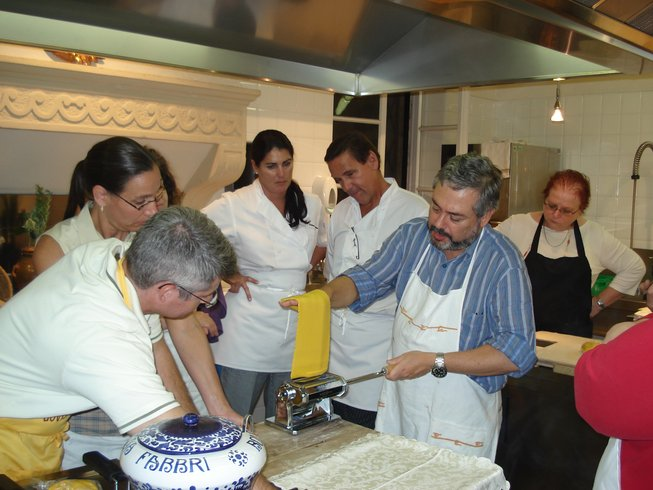 1 Week Italian Cooking Holiday with Giuliano Hazan