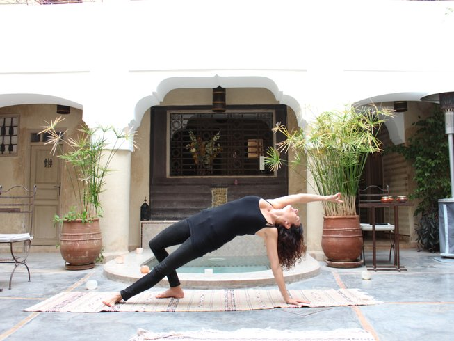 4 Days Short Break Yoga and Mediation Retreat in Marrakech, Morocco