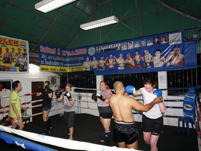7 Days Muay Thai or Boxing School in Pattaya, Thailand
