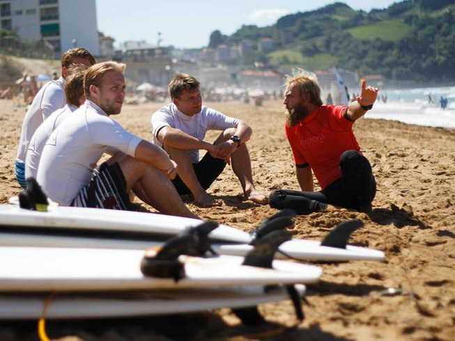 7 Days Surf Holiday in Spain
