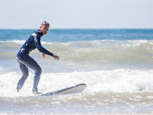 8 Days Exhilarating Surf Camp in Vagueira Beach, Aveiro, Portugal