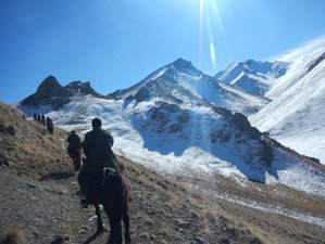 9 Day Authentically Rustic Mountain Horseback Riding Tour in Kyrgyzstan