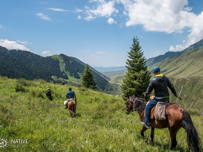 3 Days Chui Valley to Issyk-Kul Horse Riding Tour in Kyrgyzstan