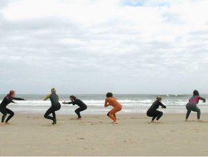 8 Days Surf and Yoga Retreat in Peniche, Portugal