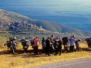 9 Day Self-Guided Peloponnese Motorcycle Tour in Greece