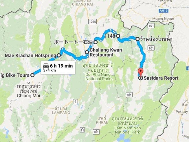 5 Days True Bikers Motorcycle Tour in Thailand