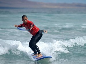 8 Day Beginners Healthy Surf Camp in Lanzarote, Canary Islands