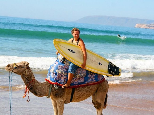7 Days Yoga and Surf Camp in Tamraght, Morocco