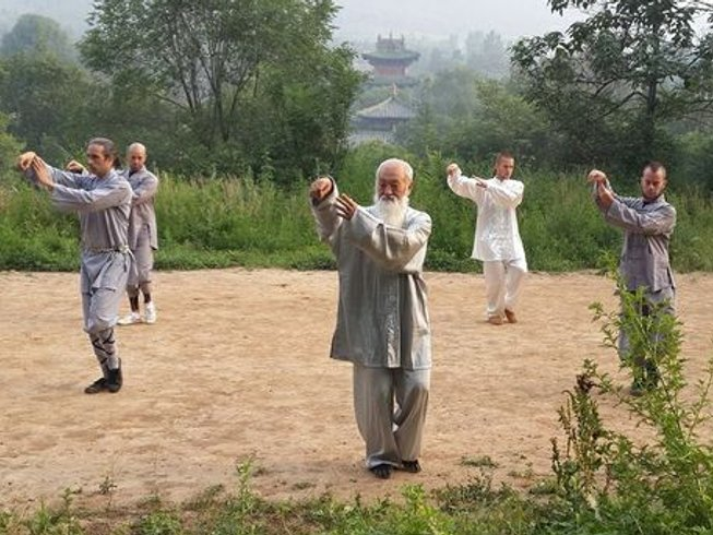 4 Years Qigong, Tai Chi, Kung Fu Training in China
