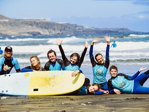 7 Day Learn to Surf and Train Your Yoga Skills on One of the Best Beaches in Las Palmas