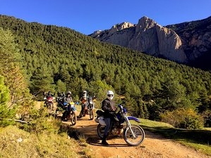 6 Day Coast to Coast Guided Off-Road Motorcycle Tour in France and Spain