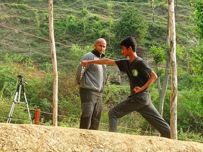 15 Days Exclusive Kung Fu Training Camp in India