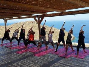 8 jours en pause de yoga bien-être dans les Cyclades, Grèce