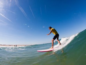 8 Days Surf, SUP and Yoga Camp Cantabria, Spain